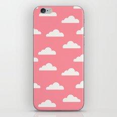 Clouds Pink iPhone & iPod Skin
