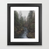 Lewis River Framed Art Print