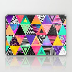 Quirky Triangles Laptop & iPad Skin