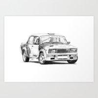 Lada VFTS Art Print
