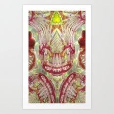 The Crystal Queen Art Print