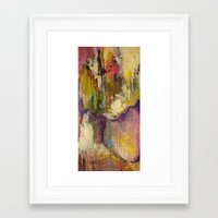 Off the Path Framed Art Print