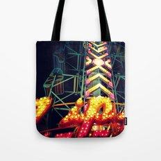 Carnival Lights, The Zipper Tote Bag