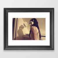 Denial Framed Art Print