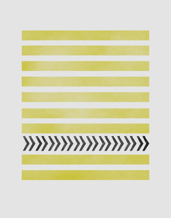STRIPES AND ARROWS Canvas Print