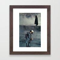 Fun Fact: I Got An Anxie… Framed Art Print