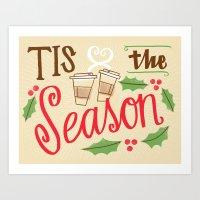 Tis The Season Art Print