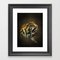 Ty-Ga Framed Art Print