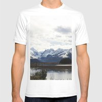 Alaska Mens Fitted Tee White SMALL