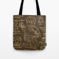 Plan Lego Tote Bag