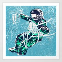 OrbitalFleets Crew Serie… Art Print