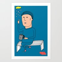 Alone3 Art Print