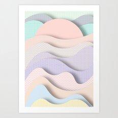 Wave I Art Print