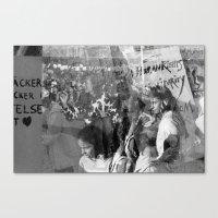 Humanity, Solidarity, Freedom Canvas Print