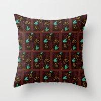 Bachelor Pad Royale Atomic Design Throw Pillow