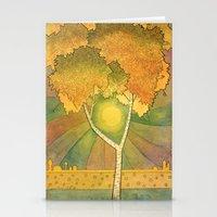 Birch 2 Stationery Cards
