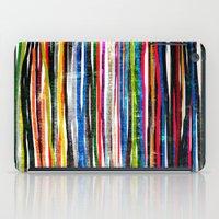 fancy stripes 1 iPad Case