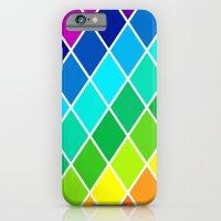 Tetrahedral Rainbow iPhone 6 Slim Case