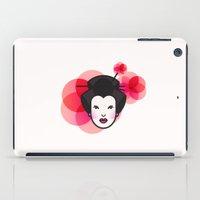 Geisha Icon iPad Case
