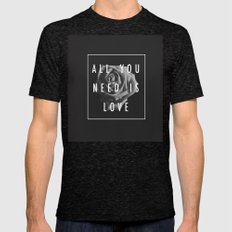 Needy Mens Fitted Tee Tri-Black SMALL