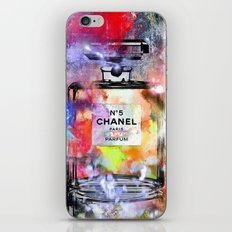 No 5 Painted iPhone & iPod Skin