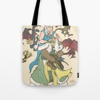 Mother Of The Dragon Sle… Tote Bag