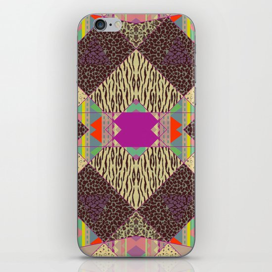RETRO KALEIDOSKOPE   iPhone & iPod Skin