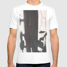 West 4th Street SMALL White Mens Fitted Tee