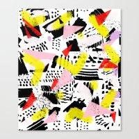 80's Rocked Canvas Print