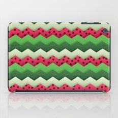 Watermelon Chevron iPad Case