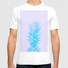 ananas feeling blue SMALL Mens Fitted Tee White