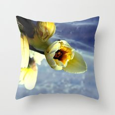 only nature is perfect Throw Pillow