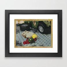 Tellermine Aftermath Framed Art Print
