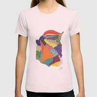 Creative Emotions Womens Fitted Tee Light Pink SMALL