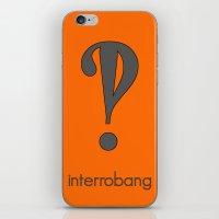 Interrobang, Serif iPhone & iPod Skin
