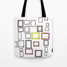 Art, Art Everywhere, but Not A Frame To Fill. Tote Bag