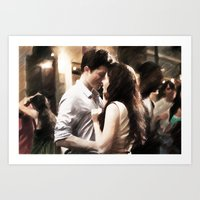 Edward And Bella From Tw… Art Print