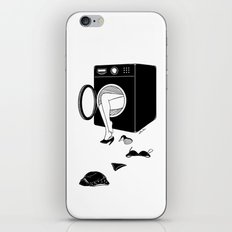 Washing Bad Memories iPhone & iPod Skin