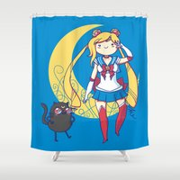 Adventure Moon Shower Curtain
