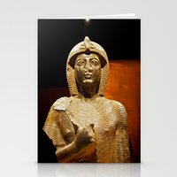 Egyptian artifact Stationery Cards