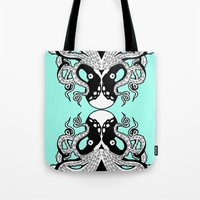 Octopus Mirrored Tote Bag