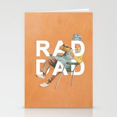 Rad Dad Stationery Cards