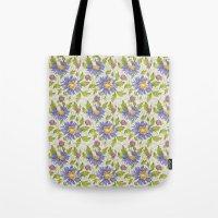 Watercolor pattern Tote Bag