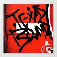 Texas Bound Canvas Print