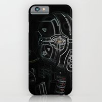 iPhone & iPod Case featuring Glitchmask Zone by Richard Jamison