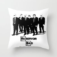 Reservoir Bad Throw Pillow