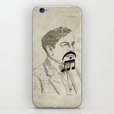 Claude Debussy iPhone & iPod Skin