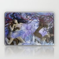 Sapphic Tide  Laptop & iPad Skin