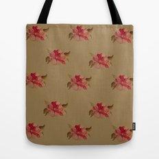 Rose Pattern Tote Bag