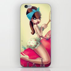 Lobster Back Ride iPhone & iPod Skin
